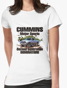 Cummins Motor Sports Womens Fitted T-Shirt