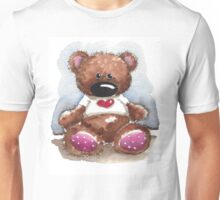 Teddy Bear with heart shirt Unisex T-Shirt