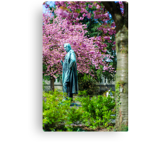 A Spring view on Mr. Bunsen Canvas Print