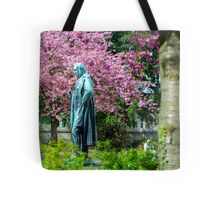 A Spring view on Mr. Bunsen Tote Bag