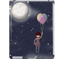 Whimsical Girl with Balloons iPad Case/Skin