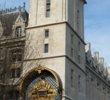 Conciergerie, Paris - Clock Tower Sticker