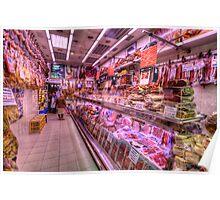 Tienda de Carne Seca Poster