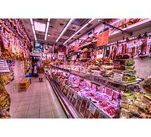 Tienda de Carne Seca Photographic Print