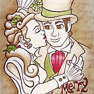 Happy Christmas under the Mistletoe by LCWaterworth