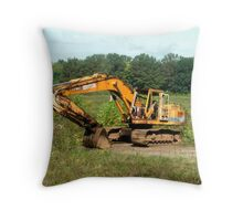 All Ready for Duty Throw Pillow