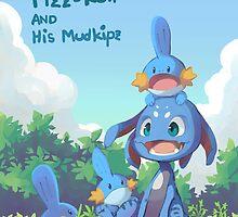 Fizz and Mudkipz by WileZKitsune