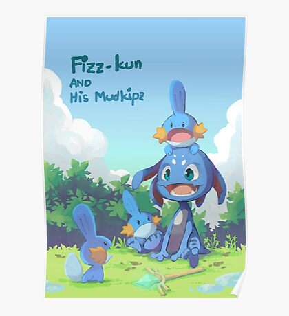 Fizz and Mudkipz Poster