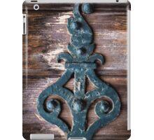 Old Door Mounting iPad Case/Skin