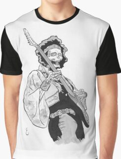 Ghost of Jimi Hendrix Graphic T-Shirt