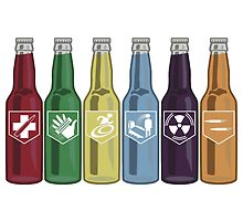 Call of Duty:Zombies Perk Bottles by duncansdesigns