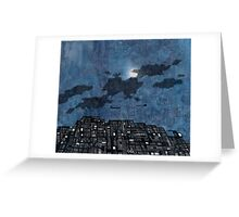Ships in the Night IV Greeting Card