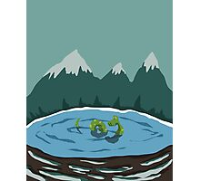 Nessie - Loch Ness Photographic Print