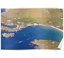 Racing Boats Anglesey Poster