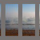 Foggy Beach at Dawn by Alastair Creswell