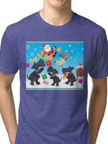 Presents from Santa Tri-blend T-Shirt