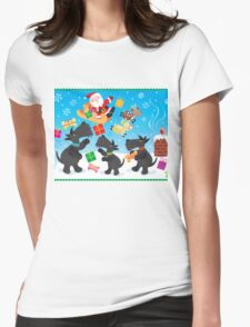 Presents from Santa Womens Fitted T-Shirt