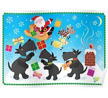 Presents from Santa Poster