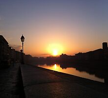 Early morning in Pisa by peestols