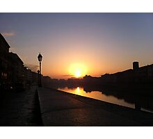 Early morning in Pisa Photographic Print