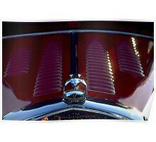 Cadillac Eldorado Vintage Antique Automobile Print, Poster & Card Poster