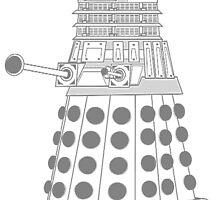 ASCII Dalek by kayve