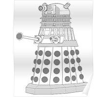 ASCII Dalek Poster