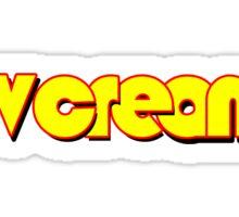 The ever-lovin' TV Cream logo Sticker