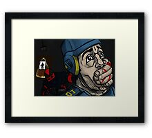 Mark of the Ninja Framed Print