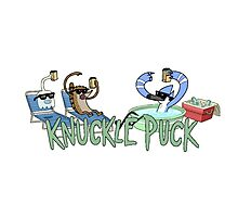 Knuckle Puck: The Regular Show Photographic Print