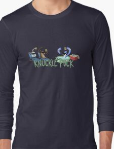 Knuckle Puck: The Regular Show Long Sleeve T-Shirt