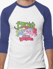 Bronies Before Hoenies Men's Baseball ¾ T-Shirt