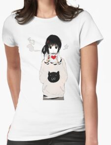 kawaii Womens Fitted T-Shirt