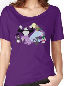 Arkham Zoo Women's Relaxed Fit T-Shirt