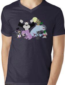 Arkham Zoo Mens V-Neck T-Shirt