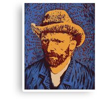 Vincent Van Gogh portrait Canvas Print