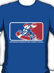 Mushroom Kingdom Kart Racing League T-Shirt