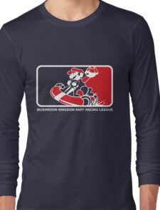 Mushroom Kingdom Kart Racing League Long Sleeve T-Shirt