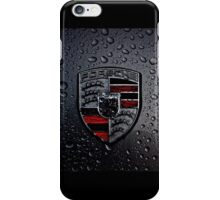 Porsche Logo ft Raindrops iPhone Case/Skin