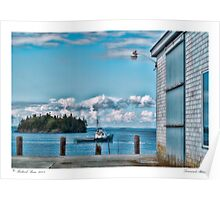 Downeast Maine Poster
