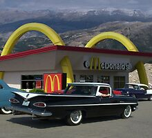 "1959 Chevrolet El Camino ""Cruising McDonalds"" by TeeMack"
