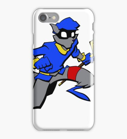 Sly Cooper- Minimalist iPhone Case/Skin