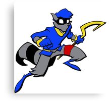 Sly Cooper- Minimalist Canvas Print