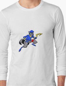 Sly Cooper- Minimalist Long Sleeve T-Shirt