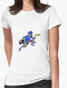 Sly Cooper- Minimalist Womens Fitted T-Shirt