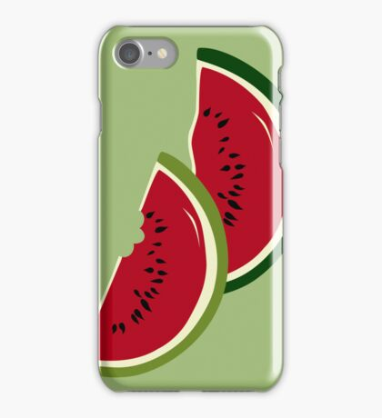 Watermelon slices iPhone Case/Skin