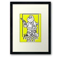 Star Wars - Forever Solo Framed Print