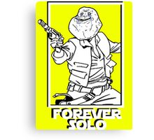 Star Wars - Forever Solo Canvas Print