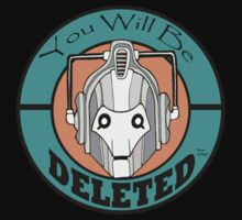 You Will Be DELETED Kids Clothes