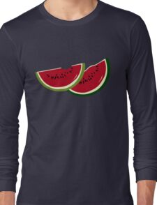 Watermelon slices Long Sleeve T-Shirt